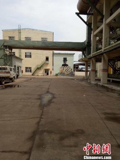 """资讯生活揭秘《战狼2》""""坦克大战""""拍摄地:张家口一铁厂内"""