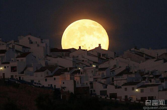世界上最美的月亮超级月亮图片组图
