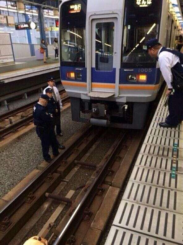 日本大阪车站惊现离奇事件女子跳轨后离奇消失
